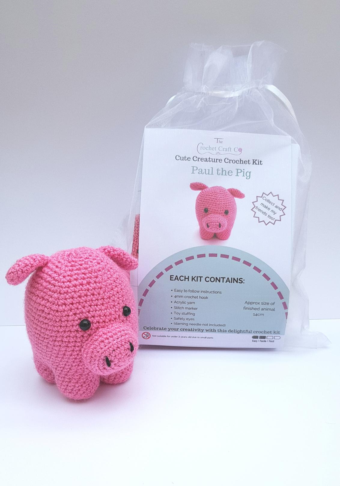 Knitting pattern Mabel Bunny Knitting Kit Easy knitting kit ... | 1616x1132